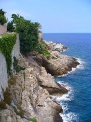 Citadelle et palais du Gouverneur, partiellement aménagé en Musée d'Ethnographie -  Bastia - Citadelle - the shores & sea