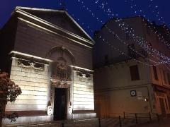 Eglise de la Conception - Français:   Oratoriu di A Cuncezziò, in Bastia, carrughju Napuleò