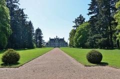Domaine de Beaumesnil (également sur commune de Gouttières) - English:   Château de Beaumesnil (Eure) - Parc  fr.wikipedia.org/wiki/Ch%C3%A2teau_de_Beaumesnil  www.chateaubeaumesnil.com/