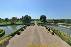 Domaine de Beaumesnil (également sur commune de Gouttières) - English:   Château de Beaumesnil (Eure) - Parc coté entrée  fr.wikipedia.org/wiki/Ch%C3%A2teau_de_Beaumesnil  www.chateaubeaumesnil.com/