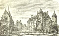 Château - Français:   Château de Chambray, France