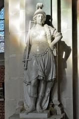 Collège de la Ville - English:   Eu (Seine-Maritime) - Chapelle du collège des Jésuites - Cénotaphe d\'Henri de Guise - Statue.  .  fr.wikipedia.org/wiki/Chapelle_du_coll%C3%A8ge_des_J%C3%A...