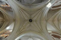 Collège de la Ville - English:   Eu (Seine-Maritime) - Chapelle du collège des Jésuites - Voûtes de la croisée du transept.  .  fr.wikipedia.org/wiki/Chapelle_du_coll%C3%A8ge_des_J%C3%A...
