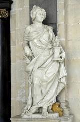 Collège de la Ville - English:   Eu (Seine-Maritime) - Chapelle du collège des Jésuites - Mausolée de Catherine de Clèves - Statue.  . fr.wikipedia.org/wiki/Chapelle_du_coll%C3%A8ge_des_J%C3%A...  fr.wikipedia.org/wiki/Catherine_de_Cl%C3%A8ves