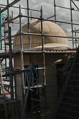 Eglise Notre-Dame - Français:   Campagne de restauration (2019-2021) de la Façade ouest, du bras de transept nord, du \