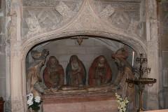 Eglise - Français:   sepulcre
