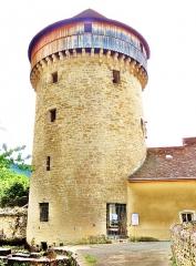 Tour de la Sergenterie - Français:   Tour de la Sergenterie, vue du côté extérieur de l\'ancienne muraille