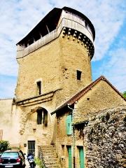 Tour de la Sergenterie - Français:   Tour de la Sergenterie, vue du côté intérieur de l\'ancienne muraille
