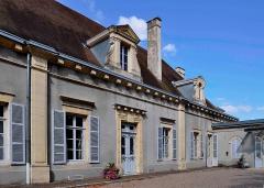 Château - Français:   Cette image est une version modifiée (perspectiveredressée) d\'une photo publiée sur Wikipédia Commons par l\'utilisateur Prosopée