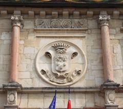 Hôtel de ville - Français:   Gray, Haute-Saône, Bourgogne-Franche-Comté, France