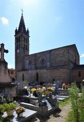 Eglise paroissiale Saint-André - Français:   Eglise Saint André d\'Alet-les-Bains