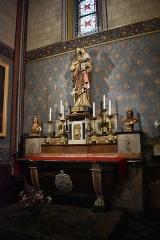 Cathédrale Saint-Michel et abords - Français:   Chapelle de Saint Joseph à la Cathédrale Saint-Michel de Carcassonne.