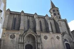 Eglise Saint-Michel - Français:   Collégiale Saint-Michel de Castelnaudary