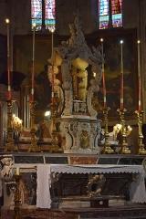 Eglise Saint-Michel - Français:   Maître-autel de la Collégiale Saint-Michel de Castelnaudary