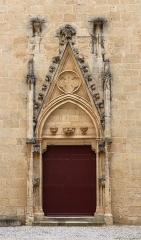 Eglise Saint-Just (ancienne cathédrale) - Deutsch:   Seitenportal der Kathedrale Saint-Just-et-Saint-Pasteur in Narbonne.