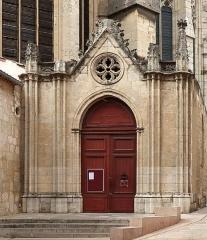 Eglise Saint-Just (ancienne cathédrale) - Deutsch:   Hauptportal der Kathedrale Saint-Just-et-Saint-Pasteur in Narbonne.