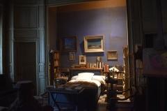 Immeuble - Français:   Chambre de Joë Bousquet à la Maison des Mémoires, Carcassonne. Gardée en l\'état depuis la mort du poète.
