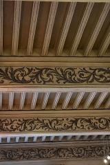 Immeuble - Français:   Maison Joë Bousquet: détail du plafond.