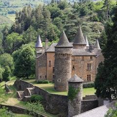 Château du Champ - Français:   Le château du Champ à Altier en Lozère (France)