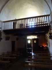 Eglise paroissiale Saint-Génis - Français:   Intérieur de la chapelle de la Vierge de l\'église Saint-Génis d\'Err
