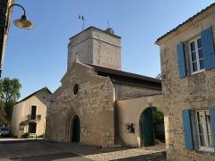 Eglise Saint-Philibert - Français:   Église Saint-Philibert de Nieul-sur-Mer