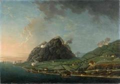 Ancien Hôtel de Cheusse, dit Hôtel de l'Intendance maritime - Français:   Prise des îles Saint-Christophe et Nevis