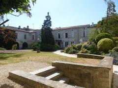 Ancien couvent des Jacobins et ancienne maison de Maurice Martineau, actuellement bibliothèque municipale - Français:   Médiathèque. Saintes, Charente-Maritime (17), France, Europe.