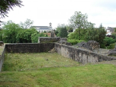 Thermes de Saint-Saloine -  Thermes de St - Saloine; Eglise Saint-Vivien de Saintes, Saintes, Poitou-Charentes, France