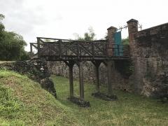 Fort Diamant - Français:   l\'entrée du fort