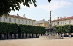 Place d'Alliance - Deutsch:   Nancy, der Place d\'Alliance, der Brunnen \