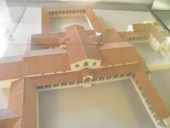 Villa gallo-romaine de Saint-Ulrich - Français:   Musée du pays de Sarrebourg maquette