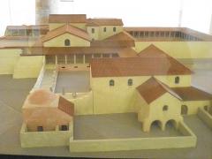 Villa gallo-romaine de Saint-Ulrich - Français:   Musée du pays de Sarrebourg maquette 2