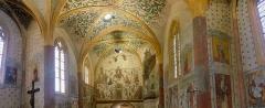 Eglise Saint-Martin - Français:   Eglise St Martin: fresque du XV et XVIe siècles
