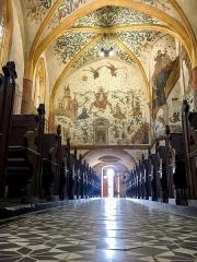 Eglise Saint-Martin - Français:   Intérieur de l\'église