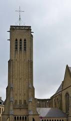 Eglise Saint-Martin - Français:   Clocher église Saint-Martin de Bergues
