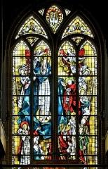 Eglise Saint-Martin - Français:   Vitrail Assomption de la Vierge Marie Eglise Saint-Martin de Bergues par Max Ingrand