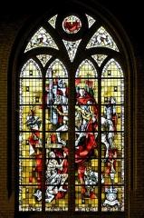 Eglise Saint-Martin - Français:   Vitrail de Saint-Martin de Max Ingrand Eglise Saint-Martin de Bergues