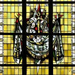 Eglise Saint-Martin - Français:   Vitrail des confréries-07 par Max Ingrand Eglise Saint-Martin de Bergues