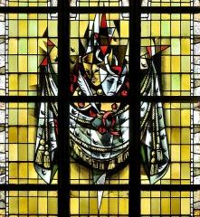 Eglise Saint-Martin - Français:   Vitrail des confréries-02 par Max Ingrand Eglise Saint-Martin de Bergues