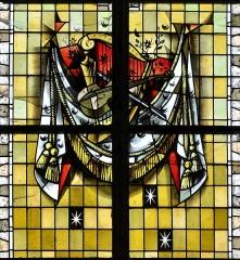 Eglise Saint-Martin - Français:   Vitrail des confréries-05 par Max Ingrand Eglise Saint-Martin de Bergues