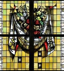 Eglise Saint-Martin - Français:   Vitrail des confréries-06 par Max Ingrand Eglise Saint-Martin de Bergues