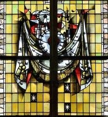Eglise Saint-Martin - Français:   Vitrail des confréries-09 par Max Ingrand Eglise Saint-Martin de Bergues