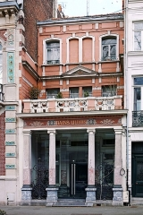 Immeuble dénommé Bains Lillois - Français:   Façade des Bains Lillois, à Lille.