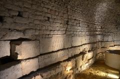 Château d'Aumont -  Boulogne-sur-Mer (Pas-de-Calais) - Le château-musée - Fragments du Mausolée de Tiberius Avitius Genialis Sulpicianus