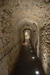 Château d'Aumont -  Boulogne-sur-Mer (Pas-de-Calais) - Le château-musée - Sous-sols
