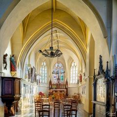 Eglise Saint-Martin - Français:   Vue détaillée du chœur de l\'église de Dannes