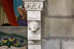 Eglise Saint-Nicolas - Français:   Détail du monument dédié à Monseigneur Félix Fournier (1803-1877), évêque de Nantes. Basilique Saint-Nicolas. (Nantes, Loire-Atlantique, Pays de la Loire, France)