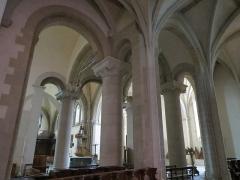 Cathédrale de la Trinité -  Chœur de la cathédrale de la Sainte-Trinité de Laval, Mayenne, Pays de la Loire.