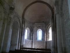 Eglise Saint-Philibert - Français:   Chœur roman