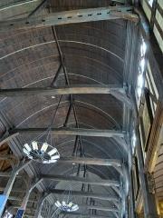 Eglise Sainte-Catherine - Français:   charpente, Église Sainte-Catherine, Honfleur